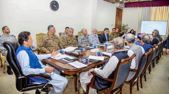 On Friday, the federal cabinet headed by Prime Minister Imran Khan endorsed the decisions taken by the National Security Committee and the joint session of parliament, which include suspension of trade ties with India, the Dawn reported. (PID/PTI File Pho