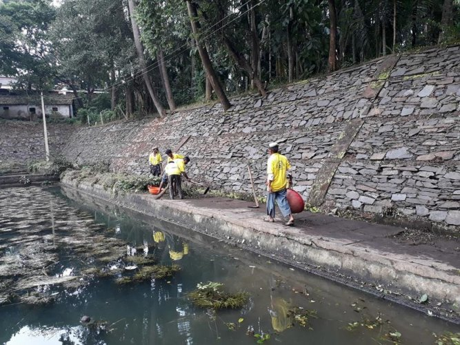 Before cleaning of Shankara honda. Photos by Shivananda Kalave