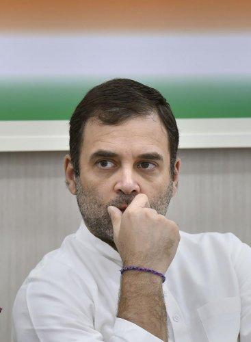 Rahul Gandhi. File Photo.