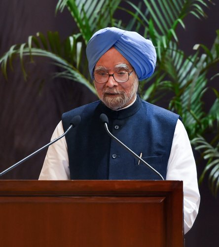 Manmohan Singh will file his nomination from Rajasthan (PTI File Photo)