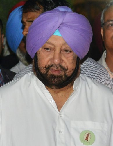 Punjab Chief Minister Amarinder Singh (AFP Photo)