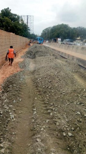 The Kundalahalli underpass construction might chance on a delay adding on the traffic woes of commuters, due to the detours in land acquisition process to build a service road.