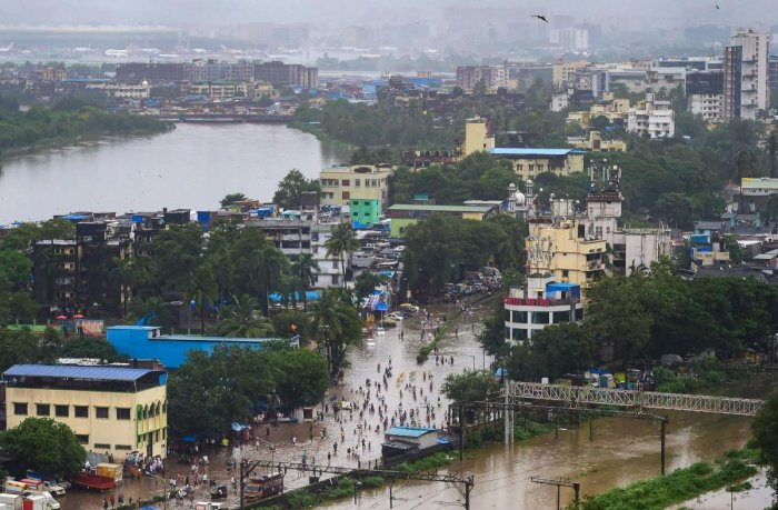 More than five lakh cusec of water is being discharged from Almatti dam on the Krishna river in Karnataka to ease the flood situation in western Maharashtra. (PTI File Photo)