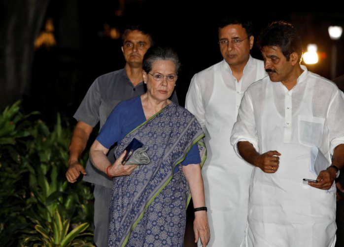 AICC plenary soon to ratify Sonia's appointment | Deccan Herald