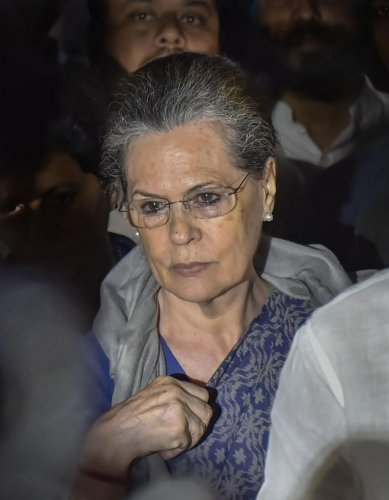 Sonia Gandhi was appointed as interim Congress President on Aug 10