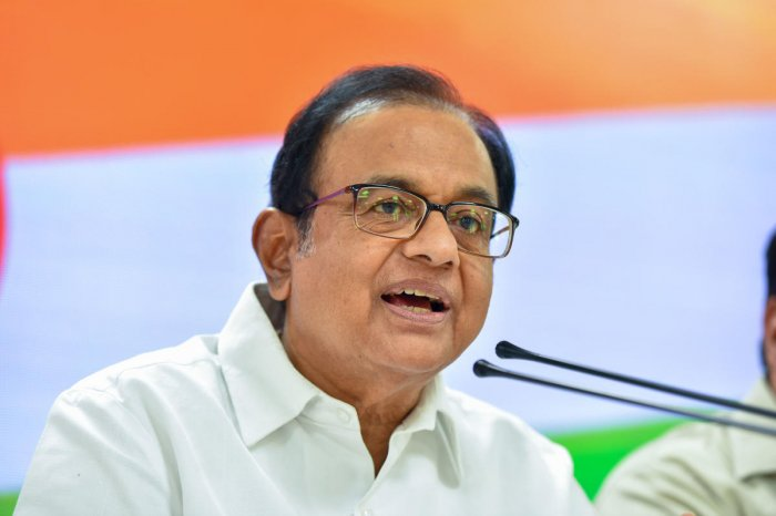 Former Finance Minister P Chidambaram. (PTI Photo)