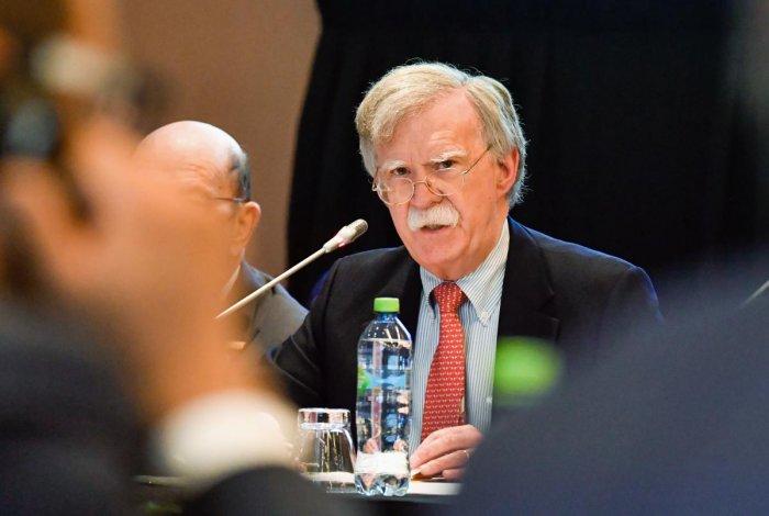 US President Donald Trump's National Security Advisor, John Bolton. AFP Photo