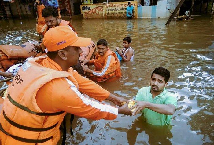 The flood has left many in Kerala devastated. (PTI photo)