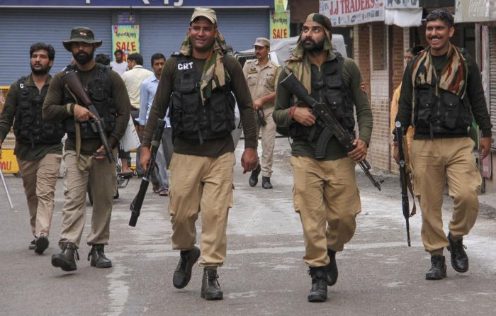 People have been asked to inform police in case they notice any suspicious person or object, an advisory issued by the Senior Superintendent of Police (Security), Jammu. PTI Photo