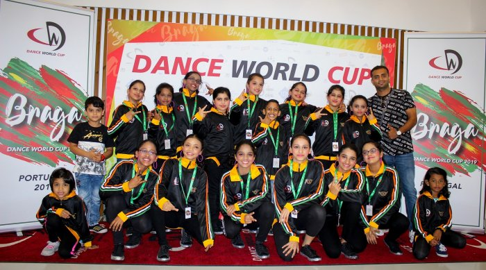 The team won second place in  the Dance World Cup 2019 held in Portugal.