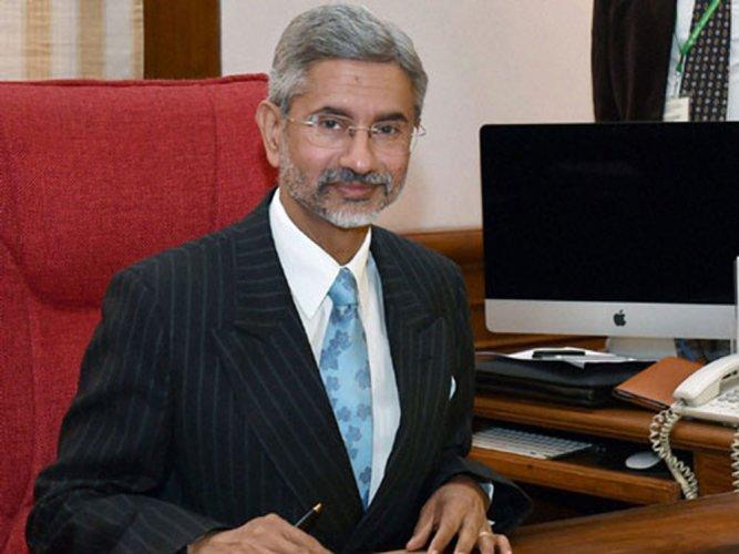 Minister of External Affairs S Jaishankar. PTI file photo