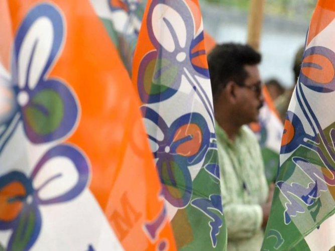 Senior TMC leader and state's Minister Chandrima Bhattacharya said that income tax cannot be imposed on places of worship and accused BJP of trying to capture Durga Pujas. AFP File photo