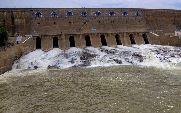 As the dam neared 90 feet, the minimum level at which water is released for irrigation, Palaniswami announced the release of water for irrigation. PTI file photo.