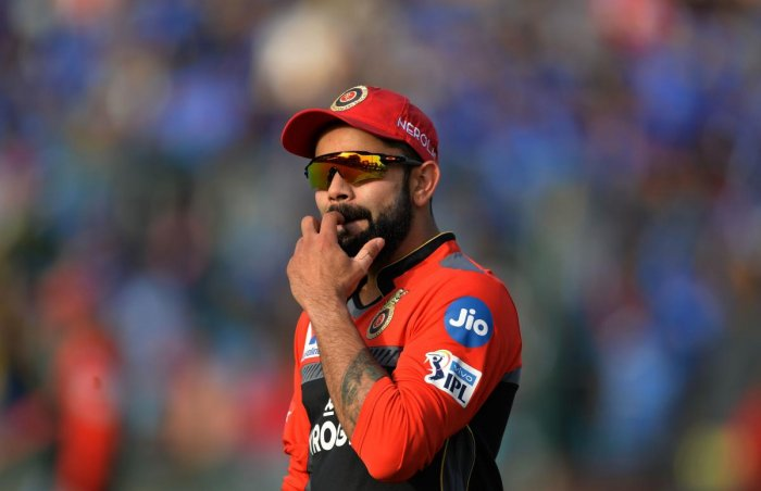 Royal Challengers Bangalore cricketer and team captain Virat Kohli. AFP file photo
