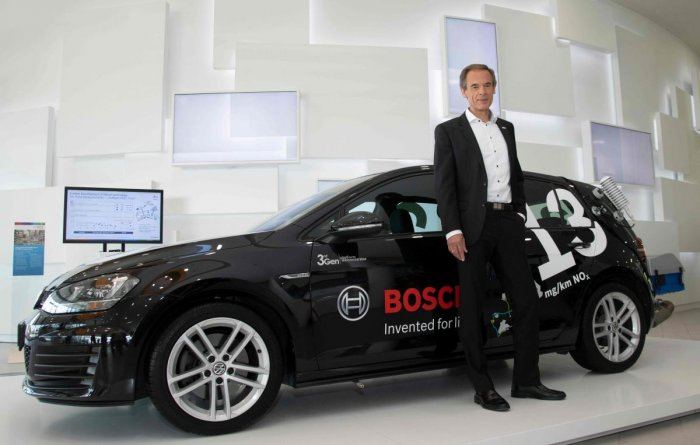 Bosch restructuring business as automotive industry sees slowdown. AFP Photo