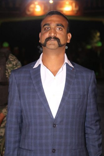 Indian Air Force (IAF) pilot Wing Commander Abhinandan Varthaman. (PTI File Photo)