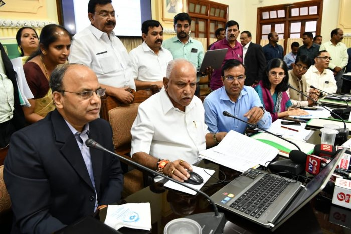 On Wednesday, the first instalment of ₹2,000 of the state's incentive was remitted to one lakh farmers' bank accounts via Aadhaar-based Direct Benefit Transfer (DBT). The next instalment will be paid in the coming days, Yediyurappa said.