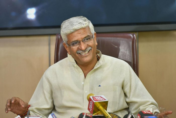 Union Jal Shakti Minister Gajendra Singh Shekhawat.