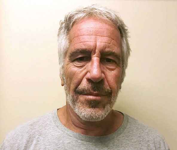 Epstein, 66, was found unresponsive Saturday morning in his cell at the Metropolitan Correctional Center (MCC) in Manhattan, having apparently hanged himself, according to federal prison authorities. (AP/PTI Photo)