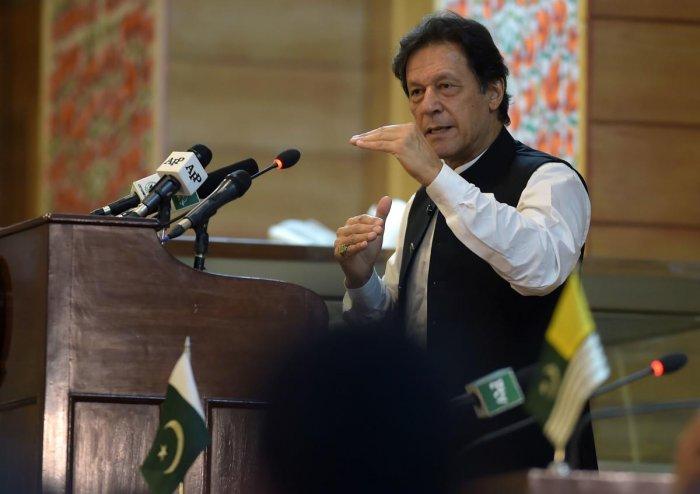 Prime Minister Imran Khan (AFP Photo)