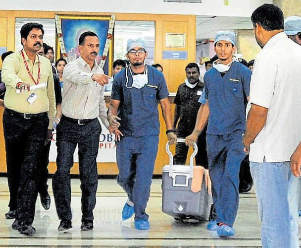 The organ donation rate in India is just 0.26 per million population. DH file photo for represenation