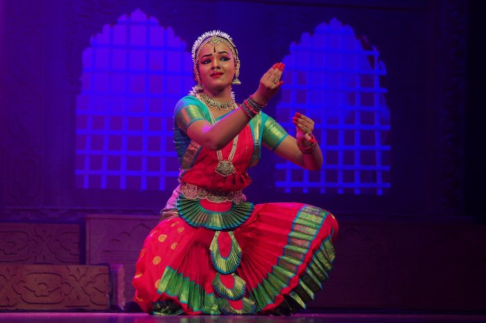 Vrisha Giridhar's rangapravesha at MLR Convention Centre.