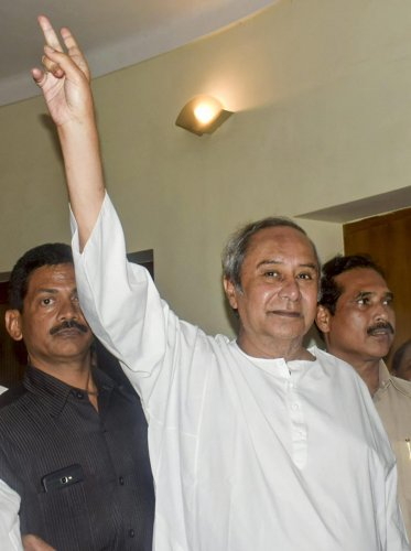 BJD President and Odisha Chief Minister Naveen Patnaik. (PTI Photo)