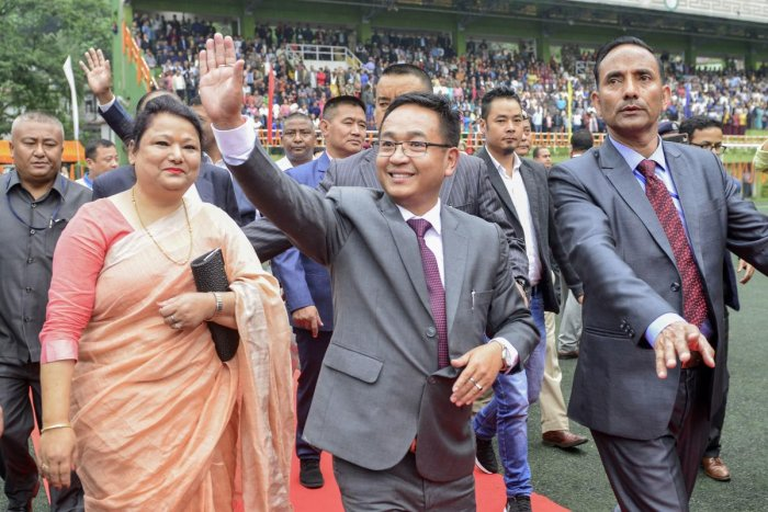 Sikkim Chief Minister Prem Singh Taman. (AFP Photo)