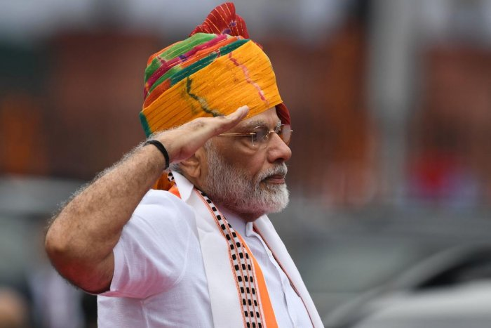 """He said that every effort being made to remove corruption and black money was welcome and added these are """"menaces"""" that have ruined India for 70 years. (AFP photo)"""