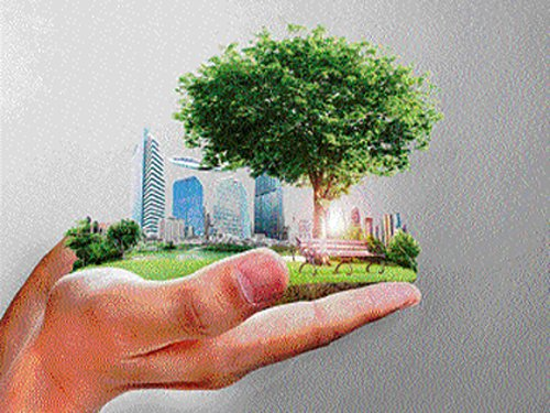 Urban green spaces for climate change