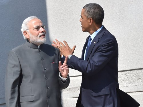 Obama, Modi committed on climate change agreement: WH
