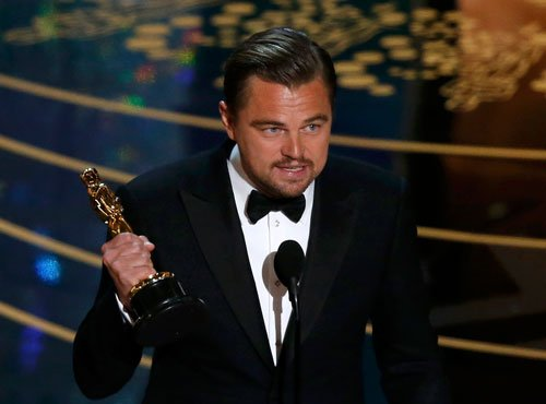 Oscars perfect platform to talk about climate change: DiCaprio