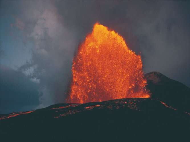 Climate change could increase volcano eruptions: study