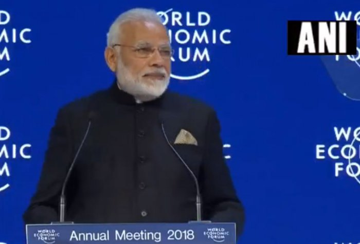 Modi hits out at protectionism; says terrorism, climate change grave threats