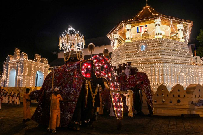 The Sri Lankan government has launched an ambitious tourism promotion programme. (AFP Photo)