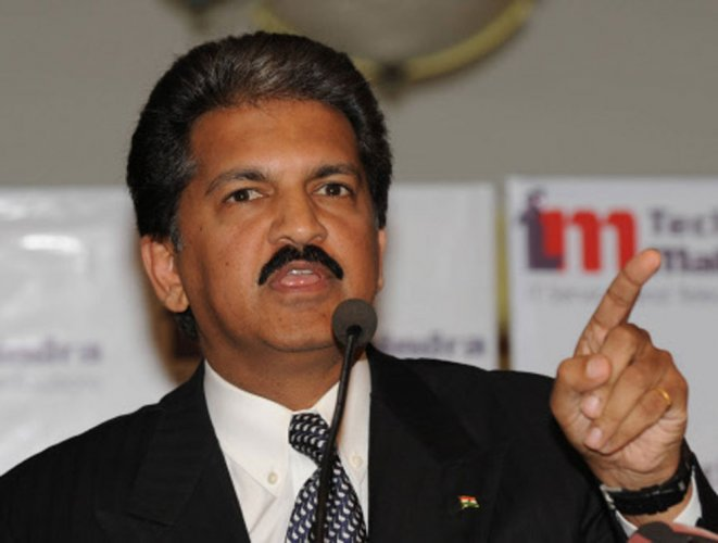 Anand Mahindra's tweets are always a joy to read (DH File Photo)
