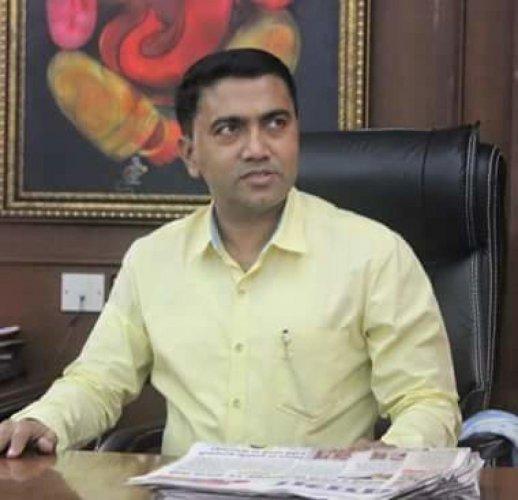 Goa Chief Minister Pramod Sawant.