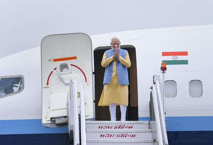 This is the Prime Minister's second visit to Bhutan and the first since his re-election. (PTI photo)