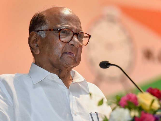 Pawar said that Rane had two options, either to join the Congress or the NCP. (PTI file photo)