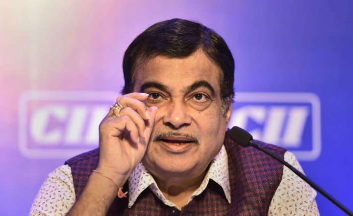Nitin Gadkari, Union Minister for Road Transport & Highways of India and Shipping Ministry of Micro, Small and Medium Enterprises in the Government of India. (PTI Photo)