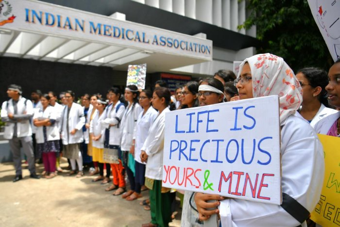 The earlier nationwide medical strike over the violence against doctors, triggered by incidents in Bengal, is still fresh in memory, with its aftermath of broken trust and simmering resentment. (AFP file photo)