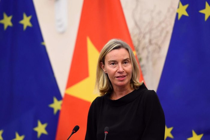 European Union's foreign policy chief Federica Mogherini. (Photo AFP)