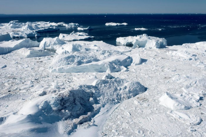 The accelerating polar ice melt has left sparsely populated Greenland, a self-governing part of Denmark, astride what are potentially major shipping routes. (Reuters file photo)