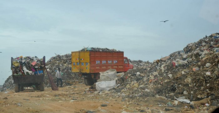 Emptying an old landfill to a new place for mixed waste requires tendering or at least a DPR. DH file photo