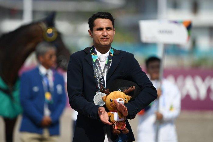 Fouaad Mirza feels him winning the Arjuna award will give equestrian, a niche sport, a fillip. AFP FILE PHOTO