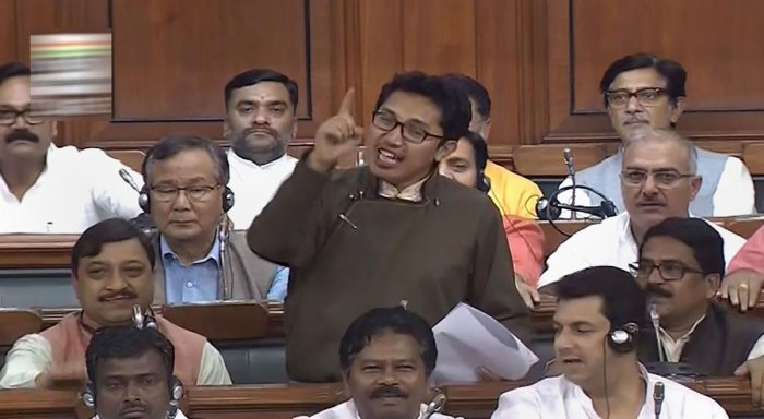 The BJP MP from Ladakh shot to fame after his impassioned speech on Article 370 in Parliament. (PTI file photo)