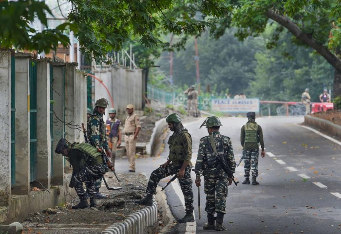 Curfew-like restrictions were in place across the state hours before the move but were subsequently eased. (PTI file photo)