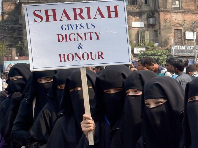 The practice of triple talaq has been criminalised by a law passed by Parliament in July