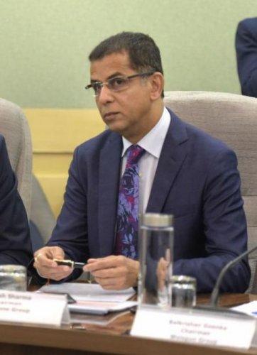 Former Vodafone CEO, Balesh Sharma (AFP File Photo)