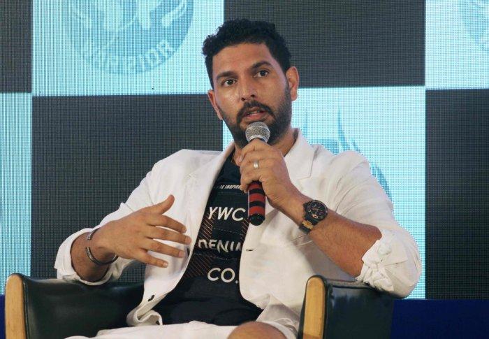 Former India all-rounder Yuvraj Singh (AFP Photo)
